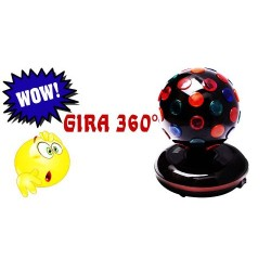 452901-MLM20428745326_092015,Esfera Rgb  En Forma De Globo Rgb Giratoria 360° Es Genial