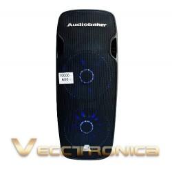 Torre Activa De Audio De Doble Bafle Con Hyper Leds Azules.