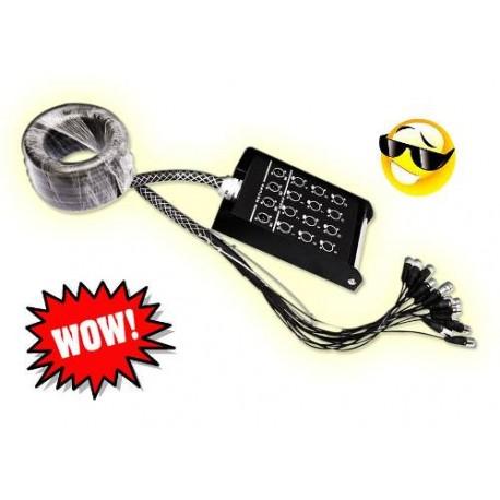 673901-MLM20428917640_092015,Medusa O Pulpo De Audio Profesional Con 16 Ch 6mts C/metal