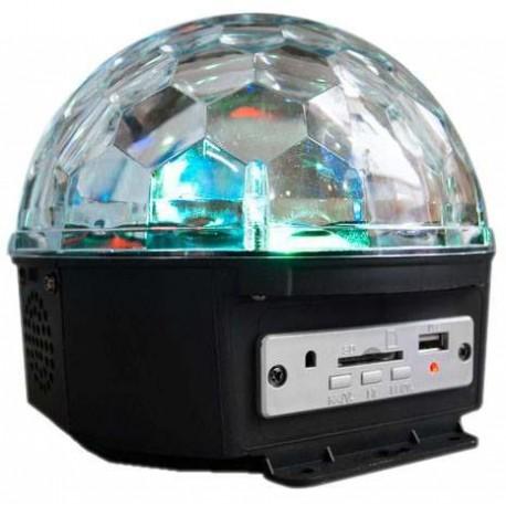850101-MLM20258871250_032015,Esfera Disco Luz Rgb  Entradas Usb Sd Y Reproductor Mp3 Wow