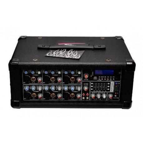 972620-MLM25679665711_062017,Super Mezcladora Profesional De 6 Canales Amplificada 1600w
