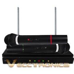 985321-MLM20755466612_062016,Pack Microfonos Inalambricos Con Receptor Edicion Especial..