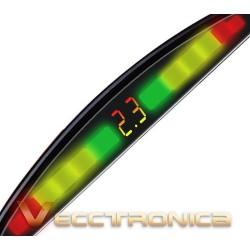 293421-MLM20755603749_062016,Fabulosos Sensores De Reversa Con Display Marca Audiobahn