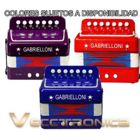 121421-MLM20755715430_062016,Padrisimo Acordeon Profesional Para Niños Colores Fabulosos.
