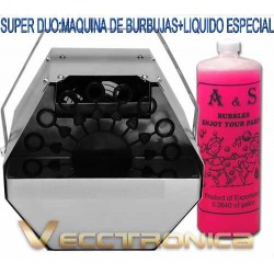 Super Promocion: Maquina De Burbujas Gratis Liquido Especial