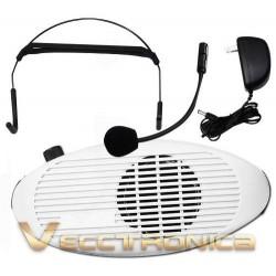 425321-MLM20773474312_062016,Super Pack Megafono Portatil Con Microfono De Solapa Woooow