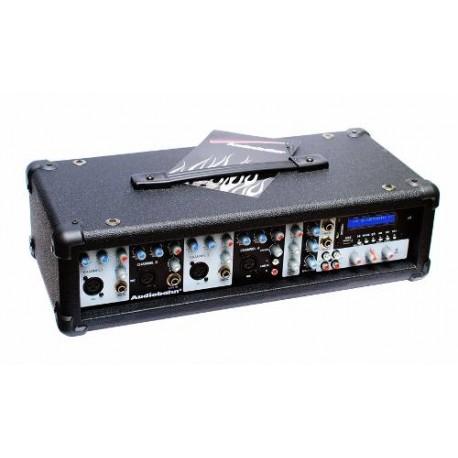 616586-MLM25641879829_062017,Vecctronica: Mezcladora Activa 4ch Usb Sd Bluetooth P/ Bafle