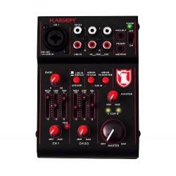 925411-MLM20567961431_012016,Inovadora Mezcladora Profesional Compacta 3 Multicanales Usb