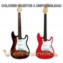 Fabulosa Guitarra Electrica 2 Modelos Tipo Stratocaster Wow.