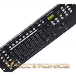 Increible Controlador Dmx Con Joystic Y Magnificas Funciones