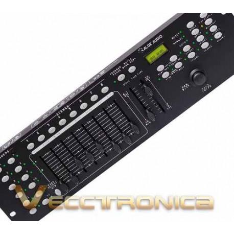 370521-MLM20781742369_062016,Increible Controlador Dmx Con Joystic Y Magnificas Funciones
