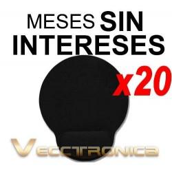 444521-MLM20788368433_062016,Vecctronica:super Paquete De 20 Mouse Pad Version Black Wow