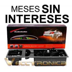 Vecctronica:sensores De Reversa Con Display D/hyper Leds Wow