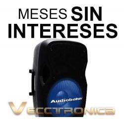 877421-MLM20789086746_062016,Vecctronica:bafle Pasivo 15  Con Hyper Leds Azules Internos.