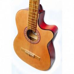 Guitarra De Muy Alta Calidad Acustica Maderas 100% Naturales
