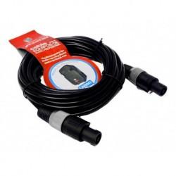 Genial Cable Profesional P/audio De 10 Mts Speakon A Speakon