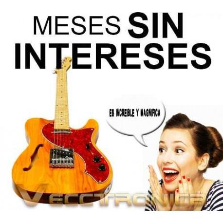 744521-MLM20789171183_062016,Vecctronica:fabulosa Guitarra Semi Hueca Estilo Telecaster..
