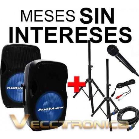 808421-MLM20790623144_062016,Vecctronica: Combo De Bafles 15  Con Sensacionales Regalos..