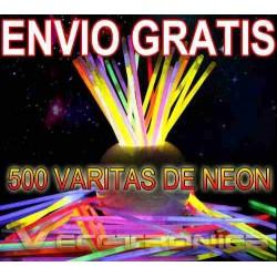 241521-MLM20790823665_062016,Envio Gratis Paquete De 500 Varitas De Neon Es Genial Wooow