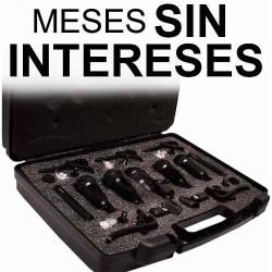 512121-MLM20724397629_052016,Vecctronica: Kit 7 Microfonos Para Bateria Estuche Gratis..!
