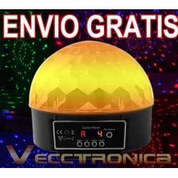 853521-MLM20794116000_062016,Envio Gratis Esfera De Luz Con Multiefectos Rgb Con Dmx Vecc