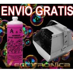 721521-MLM20794183318_062016,Envio Gratis Genial Maquina De Burbujas+ Liquido Gratis Vecc
