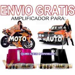 846421-MLM20795708490_072016,Envio Gratis Amplificador Para Moto O Auto En 2 Colores Wow