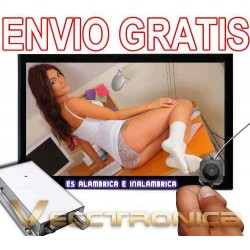 555521-MLM20797206377_072016,Envio Gratis Camara Espia Alambrica E Inalambrica Woooowwwww