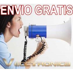 340521-MLM20797213434_072016,Envio Gratis Megafono Portatil Con Bandolera Y Altavoz Vecc