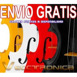 575421-MLM20799147776_072016,Envio Gratis Violin Con Accesorios 4 Colores Distintos Vecc