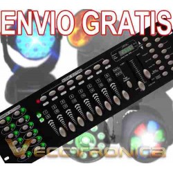 676393-MLM25603411640_052017,Envio Gratis Controlador Dmx Con 24 Luces Directas Es Genial
