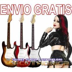225521-MLM20799651181_072016,Envio Gratis Genial Guitarra Electrica Tipo Stratocaste Woow