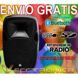 433621-MLM20803494608_072016,Envio Gratis Bafle De 15  Activo Con Boton De Grabacion Vecc