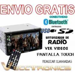 739521-MLM20803530260_072016,Envio Gratis Autoestereo By Audiobahn Pantalla Touch Vecc