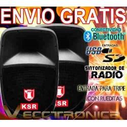 717521-MLM20803723144_072016,Envio Gratis Combo De Bafles By Kaiser Con Super Poetncia.
