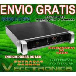 742621-MLM20803868141_072016,Envio Gratis Amplificador Profesional C.yamaha 1700w Rms Wow