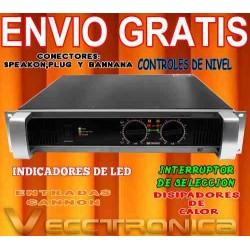 219521-MLM20803878554_072016,Envio Gratis Amplificador Profesional C.yamaha 2100 W Genial