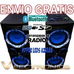 463621-MLM20804041811_072016,Envio Gratis Combo De Bafles Con Leds Display Completo Wooow