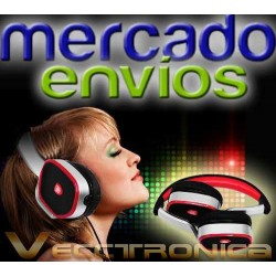 Mercado Envios Vec Audifonos Acojinados Se Doblan 2 Colores.