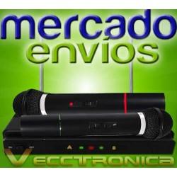 925621-MLM20806887081_072016,Mercado Envios Vec Set De Microfonos Inalambricos C/receptor