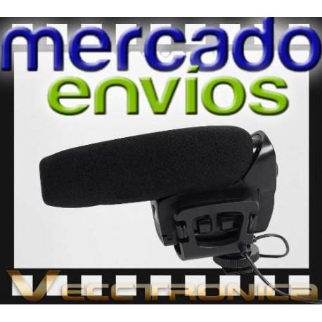 165621-MLM20812285865_072016,Mercado Envios Vec Microfono Especial P/camara Tipo Escopeta