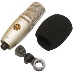 Microfono De Condensador Estudio Set Profesional Conmaletin