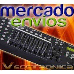311621-MLM20822553755_072016,Mercado Envios Vec Controlador Dmx Con Palanca De Joystick.