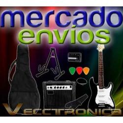 588521-MLM20822644264_072016,Mercado Envios Vec Pack Rock Guitarra+ampli+accesorios Woow.