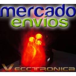 171721-MLM20824471727_072016,Cabeza Robotica Profesional Jumbo Rgb Y Super Colores Wow