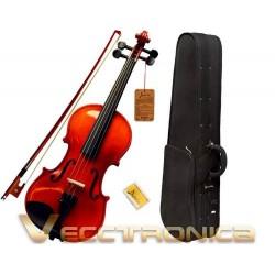 525505-MLM25040012280_092016,Violin Profesional Tamaño 4/4+accesorios De Regalo Es Genial