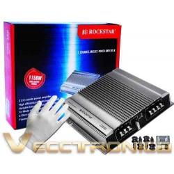 305505-MLM25045153242_092016,Amplificador De Audio Profesional De 2 Canales By Audiobahn.