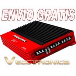 Envio Gratis:amplificador Murdered 2400w By Audiobahn Rojo..