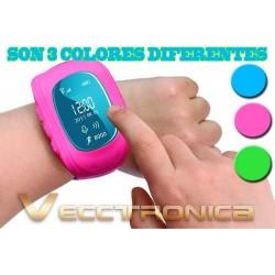 499605-MLM25053577732_092016,Gps Para Niños En Forma De Reloj Smartwach En 3 Diseños Woow