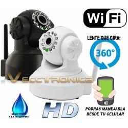 817905-MLM25085897904_102016,Camara Profesional Ip Wifi Para Tu Hogar O Negocio 2 Colores